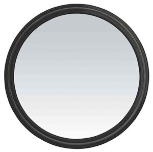miroir coiffeur rond univers noir avec poign e cheveuxbeaut. Black Bedroom Furniture Sets. Home Design Ideas
