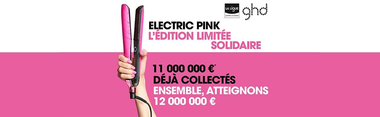 ELECTRIC PINK : L'ÉDITION LIMITÉE SOLIDAIRE