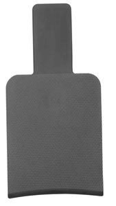 Image sur Palette balayage plastique noir