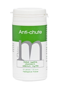 Image sur Complement alimentaire anti chute 60 capsules