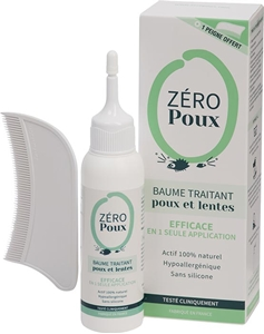 Image sur Zeropoux baume traitant anti-poux