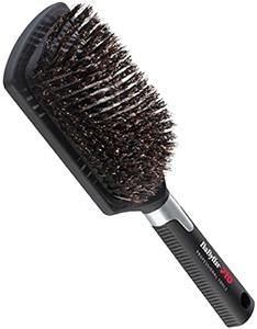 Image sur Brosse pneumatique plate large - poils de sanglier