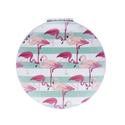 Image de Miroir de poche Flamingo Rayé Bleu