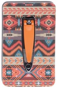 Image sur Ensemble Manucure polissoir et coupe ongles orange