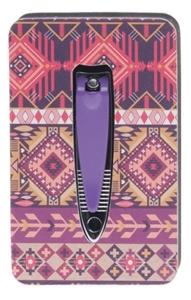 Image sur Ensemble Manucure polissoir et coupe ongles violet