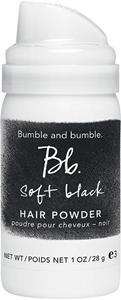 Image sur Soft black hair powder