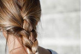 coiffure de noel facile