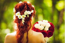 Coiffures de mariage simples et faciles