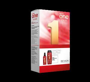 Image sur Coffret Duo Shampooing Conditioner + traitement capillaire Uniq One