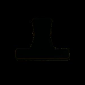 Image sur Pince brushing petit modèle noir
